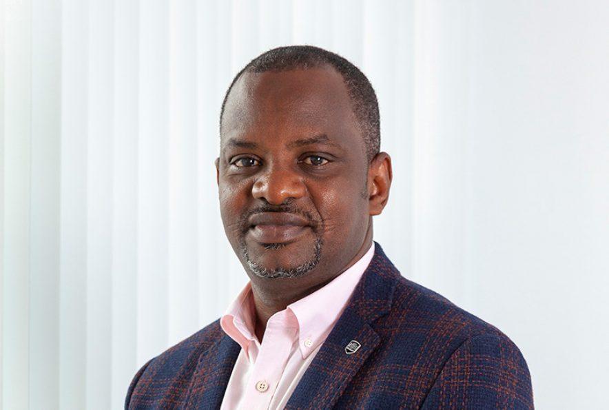 Dr. Mustapha Gidado - directeur van KNCV Tuberculosefonds
