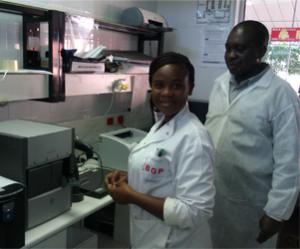 GeneXpert Training in Ghantsi Primary Hospital_Botswana