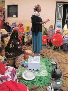 Ethiopie koffie ceremonie