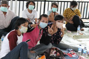 MDR-TB patients support group Persahabatan Hospital, Jakarta, Indonesia