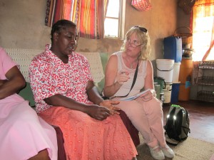 Zimbabwe_bezoek aan village Health worker