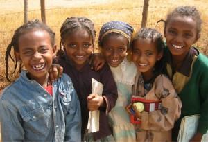 kinderen tbc ethiopie