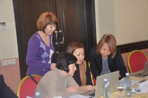 2015 CAR QuanTB_Regional training The practical exercises with use of actual NTP data of Kyrgyzstan web